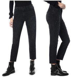 Joe's Jeans The Smith High Rise Black Denim Sz 24